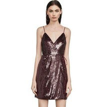 BCBG MAX AZRIA (4) STEPH SEQUIN PORT-COMBO MINI DRESS NWT MSRP$358 - $62.31