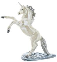 Hagen-Renaker Specialties Large Ceramic Figurine Unicorn Rearing on Base image 1