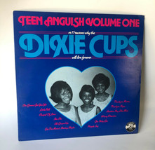 Dixie Cups 1979 Teen Anguish Charly Label CRM 2004 Vinyl Record Album  - £10.72 GBP