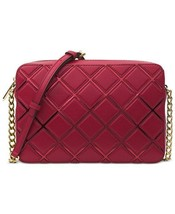NWT Michael Kors $198 Small Crossbody Leather Cherry Handbag Purse Bag - $1.271,54 MXN