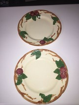 2 Franciscan 10-1/2 Plates - $8.91