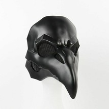 Birds Mask Long Nose Plague Doctor Steampunk Halloween Punk Crow Reaper ... - £37.85 GBP