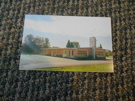 Old Vintage Postcard Krueger Motel Rhinelander Wisconsin Hwy 8 Photo Don... - $9.99