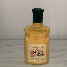 Bath Body Works White Ginger Amber Body Lotion 8 oz Vintage Discontinued - $19.95