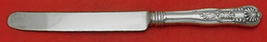 """Kings by Reed and Barton Sterling Silver Dinner Knife Blunt 9 7/8"""" Antique  - $79.00"""