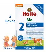 Holle Stage 2 Organic Formula 4 BOXES,600g, 05/2020 FREE EXPEDITED SHIPPING - $97.95