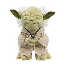 "Childrens Toy Star Wars Yoda Plush Stuffed Talking 9"" Character Plush Ki... - $28.32"