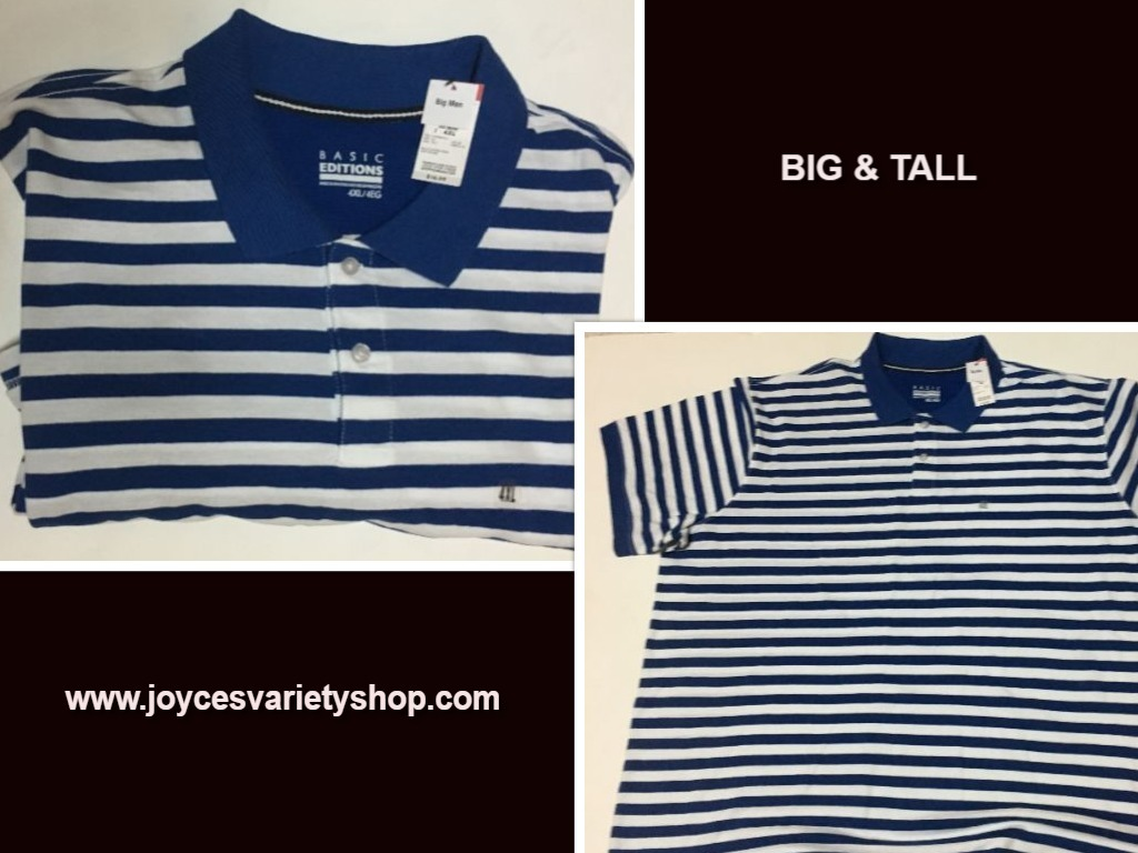 Basic blue striped shirt web collage