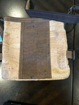 ARTELUSA CORK 2 Tone Purse with Corkor wallet image 1