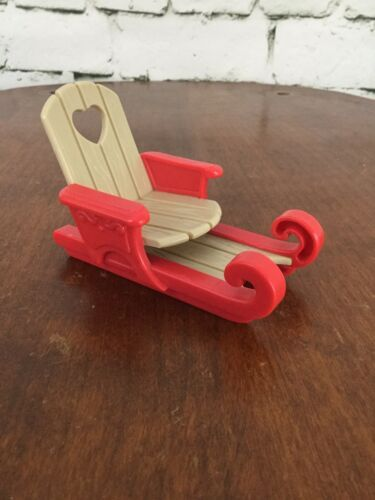 Primary image for Fisher Price Loving Family Dream Dollhouse Holiday Christmas Santa Sled Sleigh