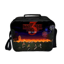 Stranger Things Season 3 Kid Adult Lunch Box Lunch Bag Picnic Bag B - $19.99