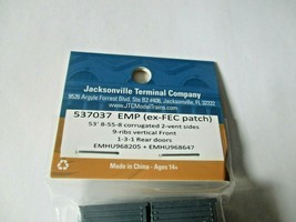 Jacksonville Terminal Company # 537037 EMP (ex-FEC patch) 53' Container 2 Pack N image 2