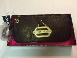 NWT Women's XOXO Shimmer Brown/Gold Small Purse Handbag Style 54216 $44 - $24.99