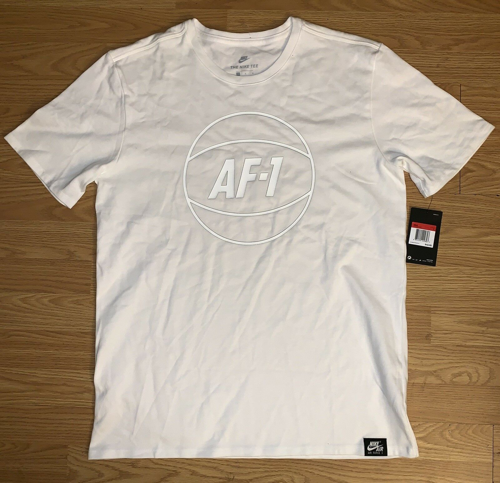 c99c6ca1 Nike Sportswear AF1 T Shirt White 873189-100 and similar items. S l1600
