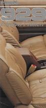 1988 Mazda 929 LIMITED EDITION small sales brochure folder US 88 - $8.00