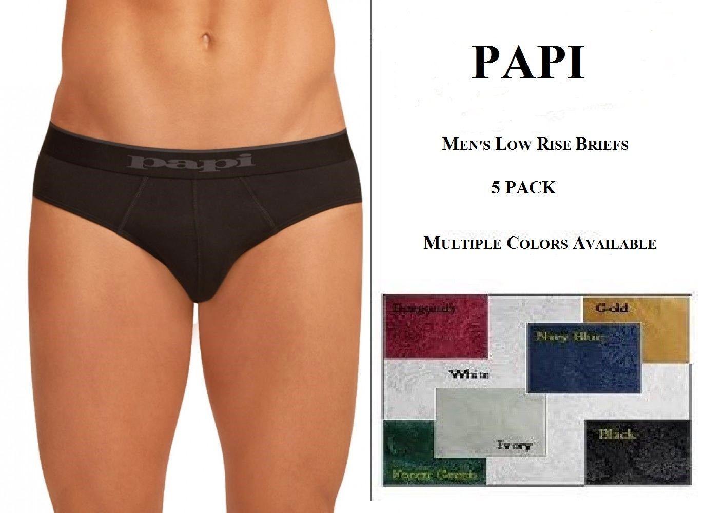005cf90eec59da 5 pack Papi Men's Low Rise Briefs 100% and 50 similar items. 57