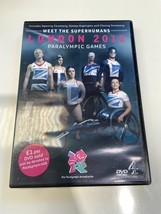 DVD - MEET THE SUPERHUMANS LONDON 2012 PARALYMPIC GAMES - $2.77