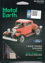 Fascinations Metal Earth 1932 Ford Coupe Laser Cut 3D MMS198 - $11.76