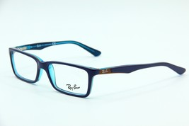 NEW RAY-BAN JR RB 1534 3587 VIOLET/BLUE EYEGLASSES AUTHENTIC 48-14 W/ CA... - $64.52