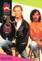 Hall & Oates trading Card (Musician) 1991 Proset Musicards Super Stars #49 - $3.00