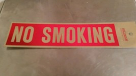 """NO SMOKING Sign 2""""x8"""" by HILLMAN FASTENER @BE - $5.94"""