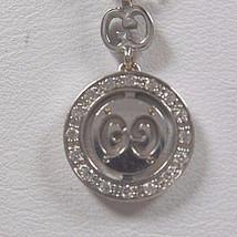 Gucci Diamond Britt Double G Necklace Twirl Icon Logo Pendant Rare - $1,658.69