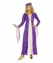 Renaissance Princess Gown Costume Rubies Purple Gold Standard size 8-12 NEW - $39.00