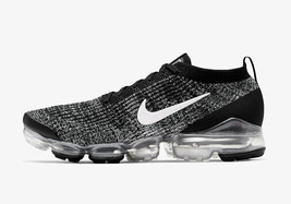 Nike Vapormax Flyknit 3 Oreo Black / White / Silver Mens Trainers / Shoes - $275.09+