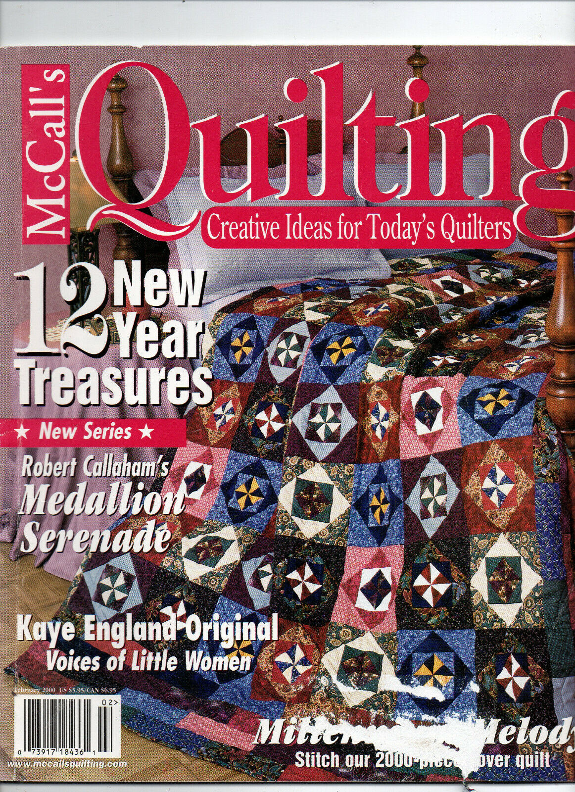 Primary image for Feb 2000/McCall's Quilting/Preowned Craft Magazine