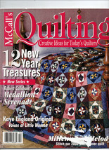 Feb 2000/McCall's Quilting/Preowned Craft Magazine - $3.99