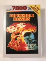 Impossible Mission - Atari 7800 - Replacement Case - No Game - $7.91