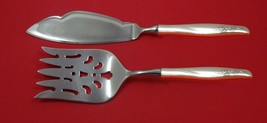 Sea Rose by Gorham Sterling Silver Fish Serving Set 2 Piece Custom Made HHWS - $127.40