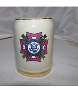 Veterans of Foreign wars of the united states Stein Coffee Mug Cup .25L ... - $12.99