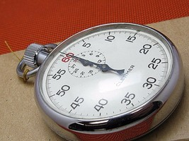 vintage hand held Stop watch Timer Count Cletimer in good working order. - $210.38