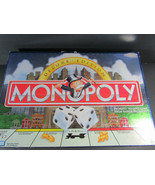 1995 MONOPOLY DELUXE EDITION Parker Brothers Board Game only 7 tokens - $12.86