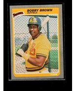 1985 FLEER #28 BOBBY BROWN NMMT PADRES - $0.99