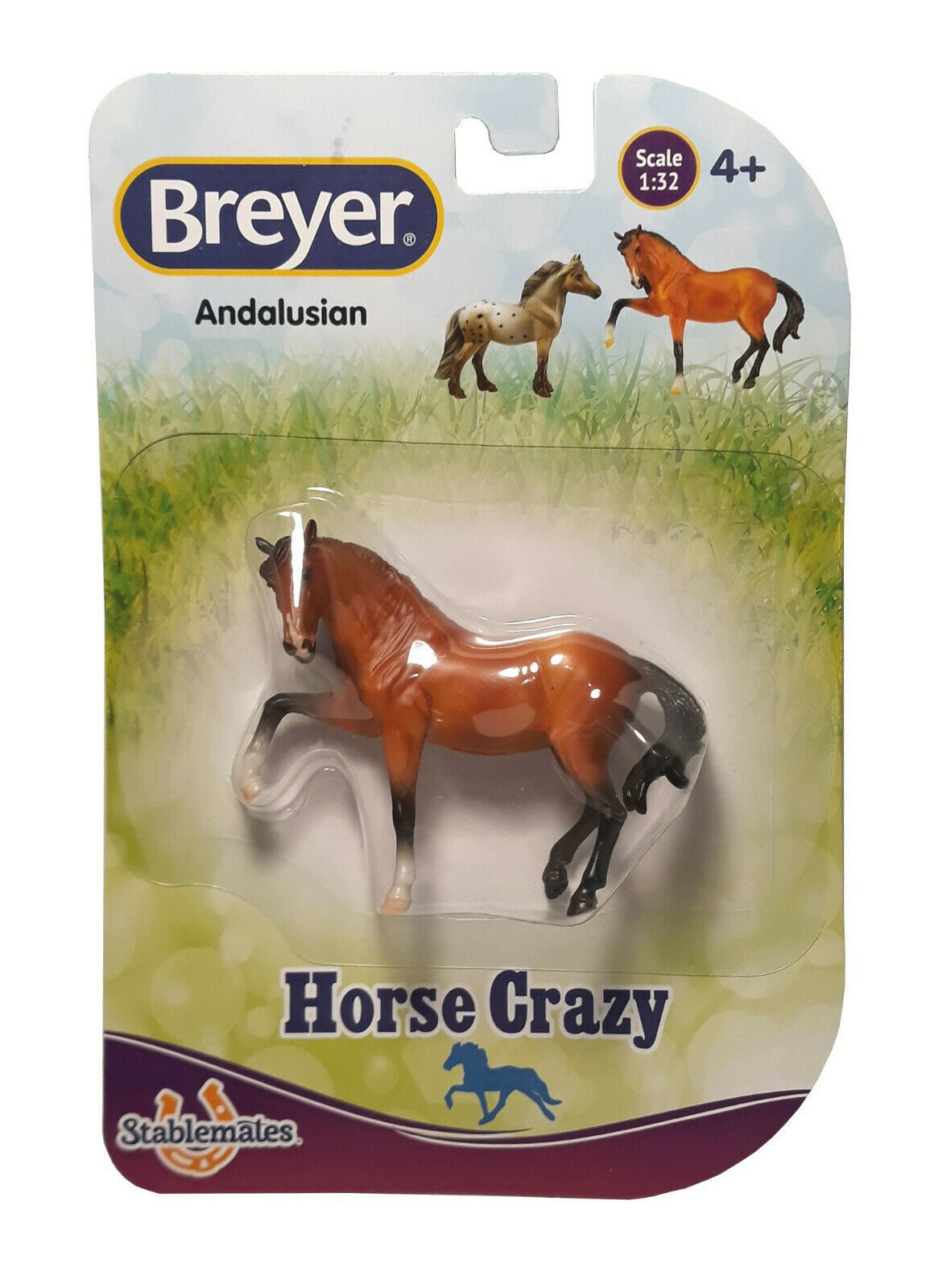 Breyer Stablemates Horse Crazy: Andalusian Figurine New in Package - $9.88