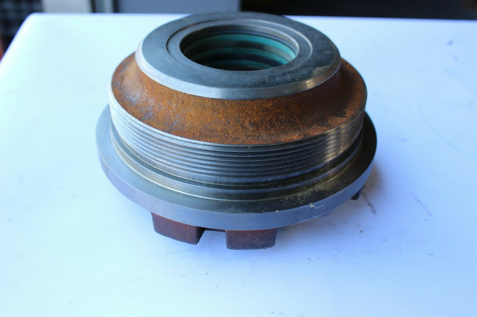 Fiat Allis 73045069 Hydraulic Cylinder Head New