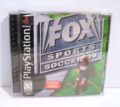 Fox Sports Soccer '99 (Sony PlayStation 1, 1998) PS1 NEW! SEALED! - $17.95