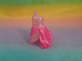 Disney Fairies JAKKS Mini Doll Replacement Pink Rubber Dress - $1.96