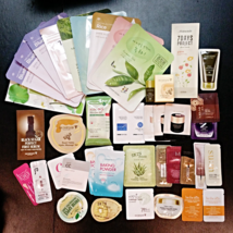 25pcs Mixed Korean Cosmetic Samples Etude House +Tony Moly + Missha + Free Gifts - $20.00