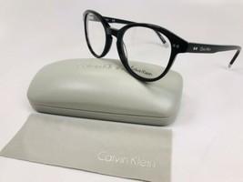 New Calvin Klein CK5991 001 Black Eyeglasses 52mm with Case & Cloth - $59.35