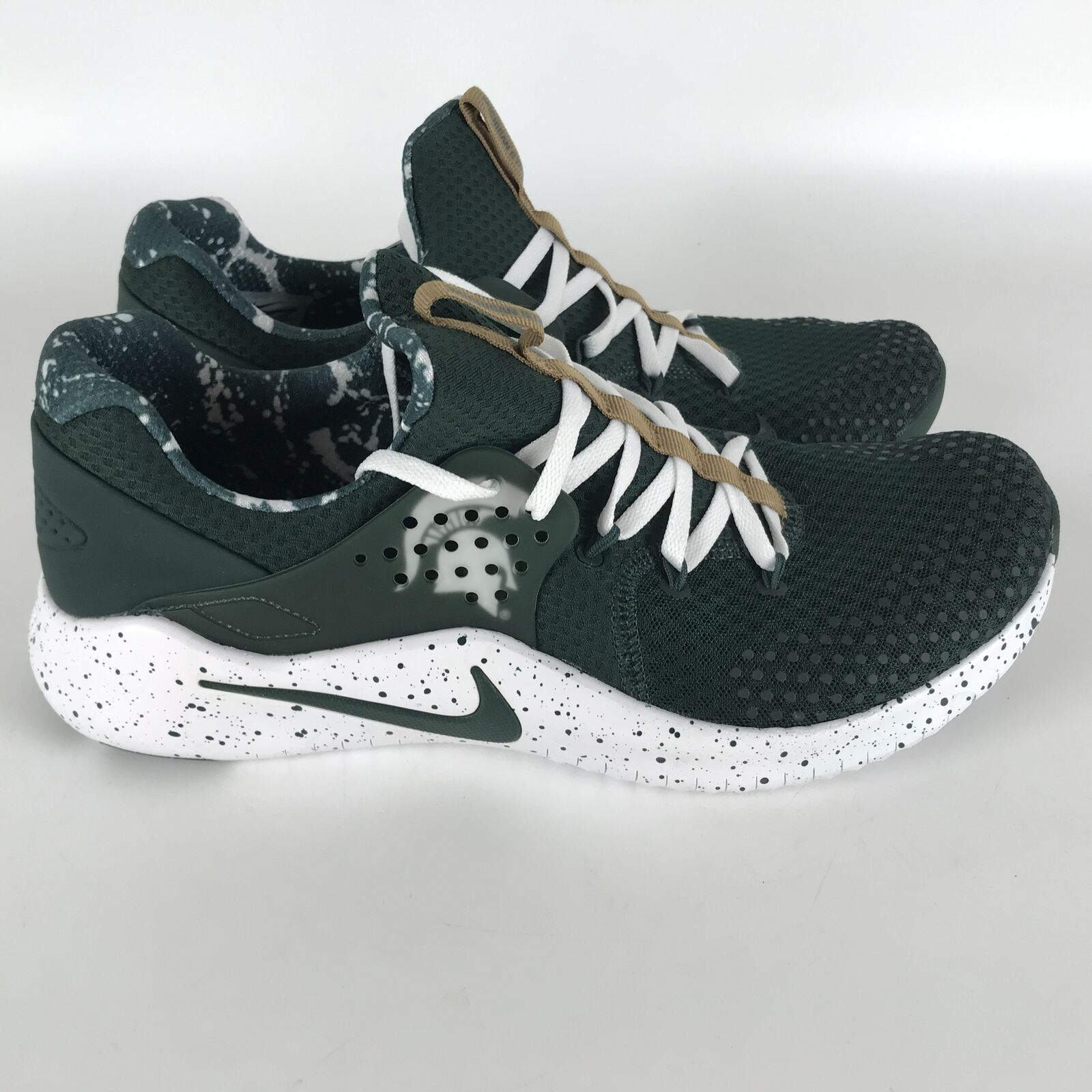 Nike Free TR8 Training Shoes Men's size 11 Michigan State Spartans AR0429-300