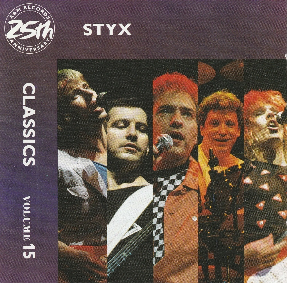 Styx Classics Volume 15 CD