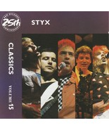 Styx Classics Volume 15 CD - $4.99