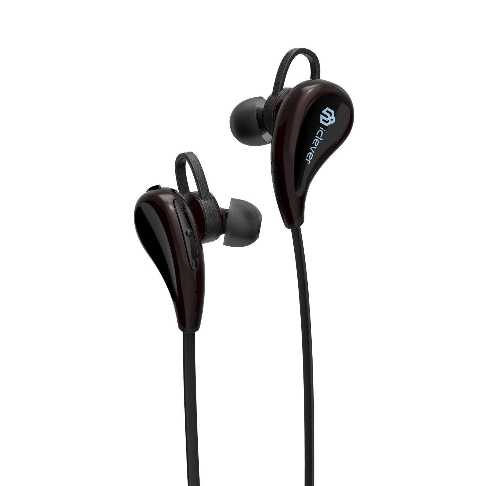 iClever Lightweight Bluetooth Headphones Quick and Stable Pairing Wireless Ea...