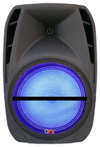 QFX Portable Bluetooth Rechargeable Party PA DJ Speaker USB MP3 Player L... - $74.78