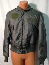 SUMMER AIR FORCE FLYERS COAT JACKET CWU-36/P LARGE  ITEM# H31 - $79.15