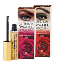 GrandeBrowFILL (Light) for full sculpted brows, (4g .14oz) NEW ITEM!!!!! - $15.85