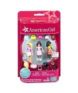 American Girl Mega Construx Denim Dream, Plaid Cowgirl And Blue and Purp... - $18.80